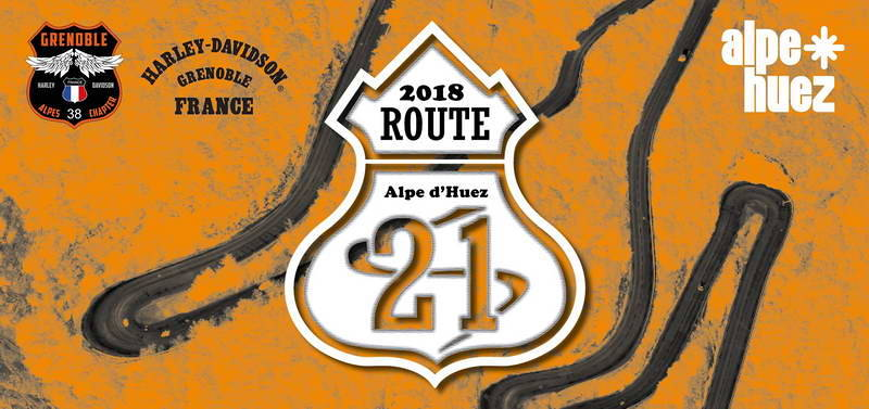 HARLEY ROUTE 21 2018