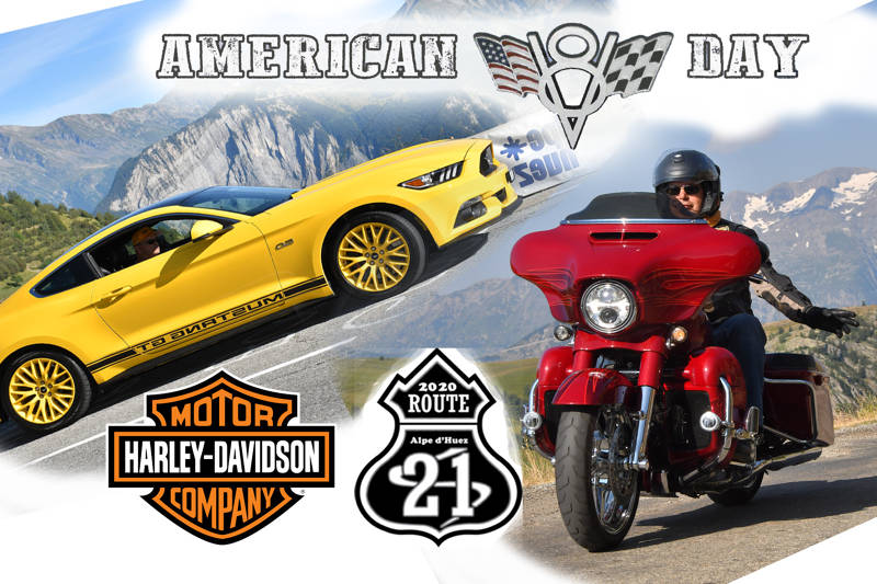 AMERICAN DAY - ROUTE 21 - HARLEY DAVIDSON